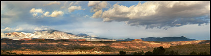 Jemez Mountains Panorama