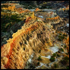 Lybrook Badlands from Above