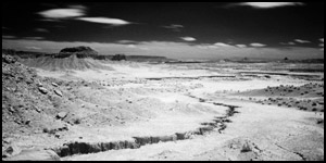 Infrared Photo - Rio Puerco