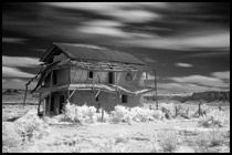 Infrared Photo - Guadalupe Ghost Town