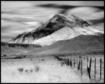 Infrared Photo - Cerro de Santa Clara