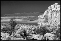 Infrared Photo - Abiquiu Lake